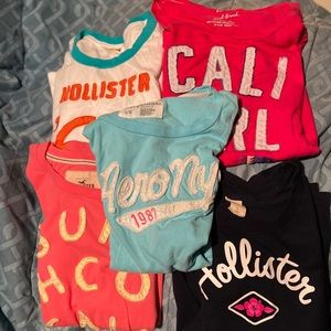 Bundle of tops for girls